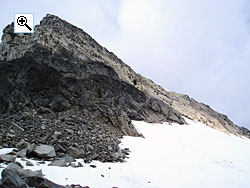 The west ridge from Ringsskard in the summer