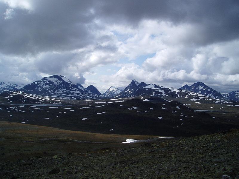 Scandinavian Mountains - Rauddalen Area
