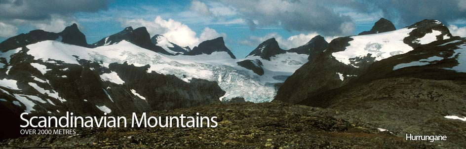 Scandinavian Mountains over 2000 metres - James Baxter